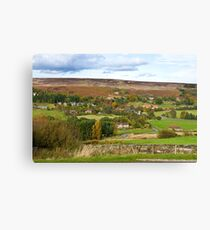 The North Yorkshire Moors Canvas Print