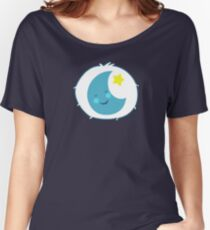 Bedtime Bear - Carebears - cartoon logo Women's Relaxed Fit T-Shirt