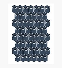 Timey-Wimey Tessellation Photographic Print
