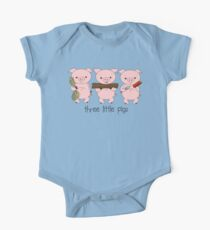 Three Little Pigs One Piece - Short Sleeve