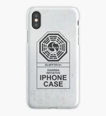 Dharma Initiative: Grunge iPhone Case
