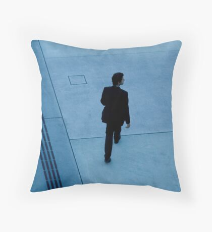 suits in the city  Throw Pillow