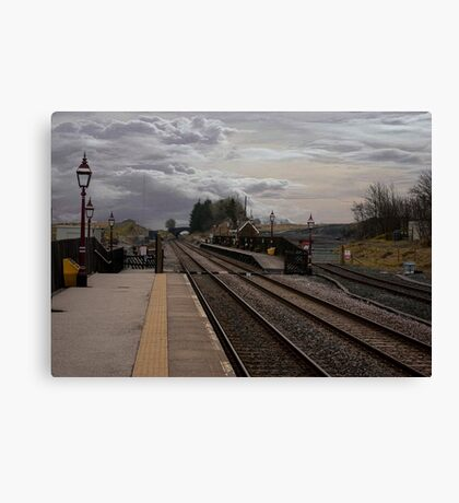 Countryside Station Canvas Print