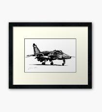 Jaguar Fighter Bomber Jet Framed Print