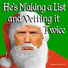 Trump Santa by ayemagine