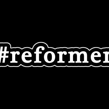 Reformer - Hashtag - Black & White de graphix