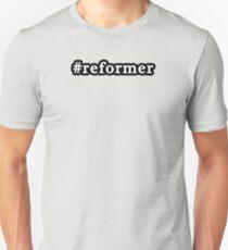 Reformer - Hashtag - Black & White T-Shirt