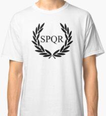 Camp Jupiter - Black Logo Classic T-Shirt