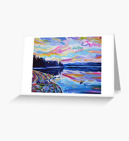 The Denman Sunrise Greeting Card