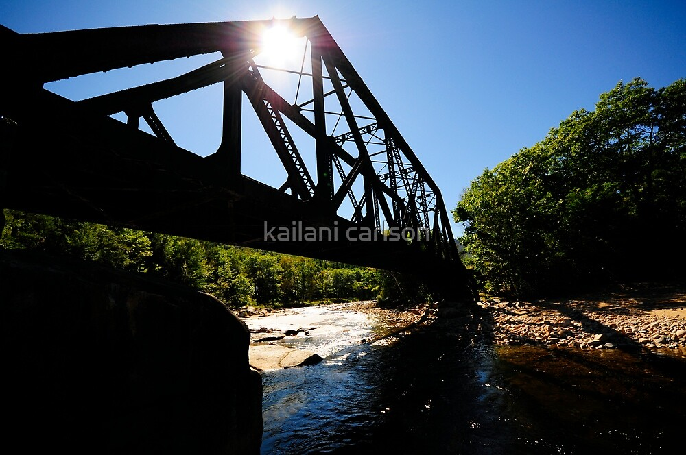 Abandoned Railroad Bridge by kailani carlson