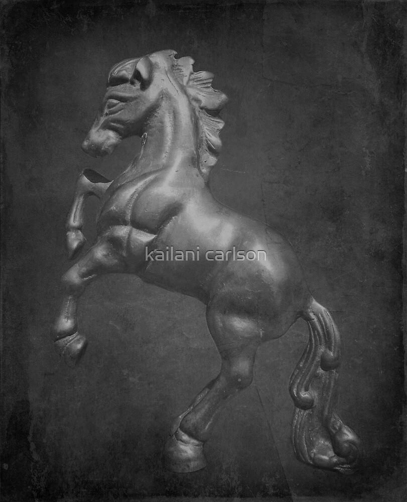 Horse Textured by kailani carlson