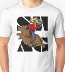 Kanye .. on a flying bear? Unisex T-Shirt
