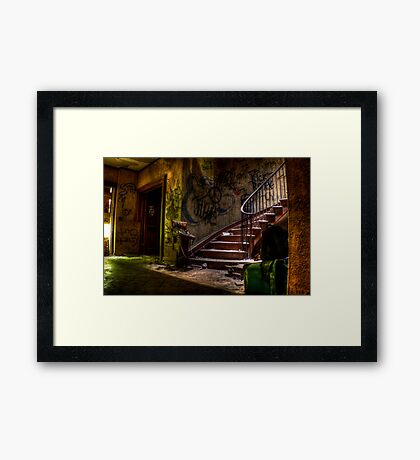 Abandoned Mansion Framed Print