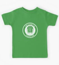 Trilobite Fancier (white on dark) Kids Tee
