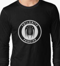 Trilobite Fancier (white on dark) Long Sleeve T-Shirt