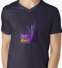 Halloween spooky alone at the castle  Men's V-Neck T-Shirt