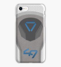 Oblivion Suit Tech 49 iPhone Case/Skin