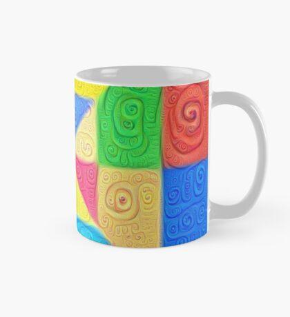 DeepDream Color Squares Visual Areas 5x5K v1448115896 Mug