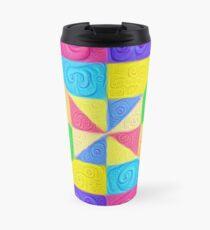 DeepDream Color Squares Visual Areas 5x5K v1448115896 Travel Mug