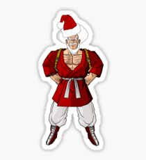 Mr satan Mr santa Sticker
