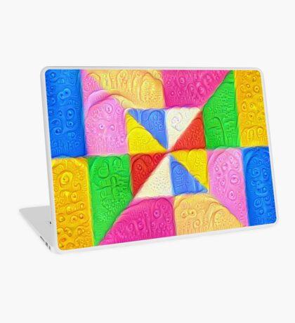 DeepDream Color Squares Visual Areas 5x5K v1448123183 Laptop Skin