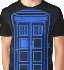 Police Box Graphic T-Shirt