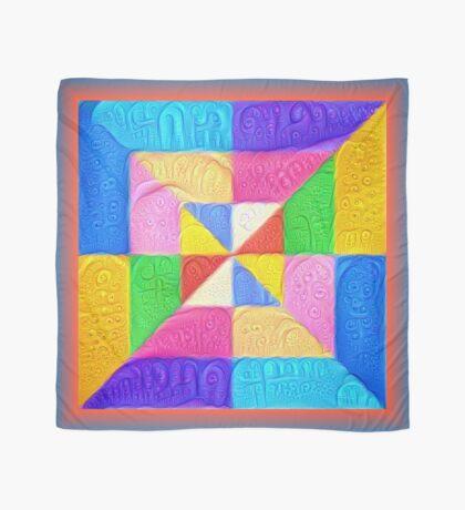 DeepDream Color Squares Visual Areas 5x5K v1448123183 Scarf
