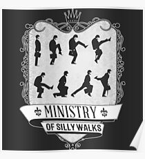 Silly walks Poster