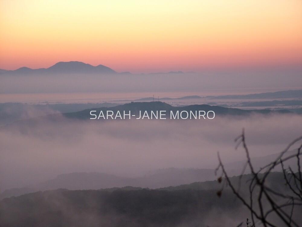 Good morning!- foggy sunrise by Sarah-jane Monro