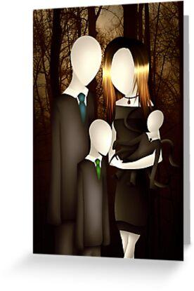 Slender Family Portrait by Immortalsushi