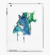 Studio Ghibli Totoro watercolour iPad Case/Skin