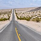 Badwater Road in Death Valley by RayDevlin