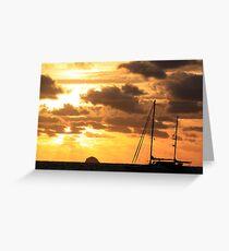 MCC Sunset Sailing Greeting Card