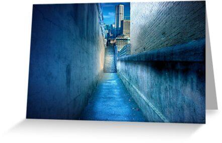 Alleyway - Darlinghurst, Sydney, New South Wales by Mark Richards