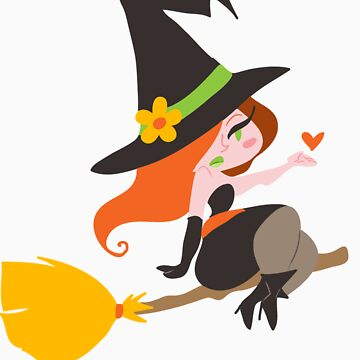 Cute Redhaired Witch von SaradaBoru