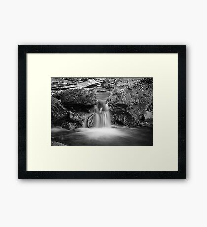 Watered Gorge Framed Print