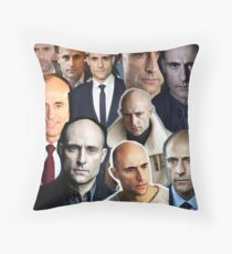 Mark Strong Throw Pillow