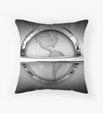 Chrome Classic World Throw Pillow