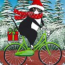 Winter Cat Bicycle Ride by Ryan Conners