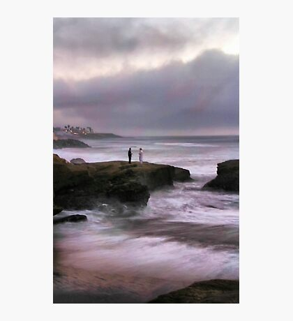 On Sunset Cliffs Photographic Print