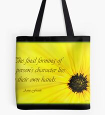 Building Character Tote Bag