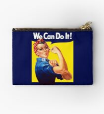 Rosie The Riveter - We Can Do It Studio Pouch