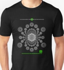 Gratitude Crop Circle Metatron Vortex 22 - oct 2012 T-Shirt