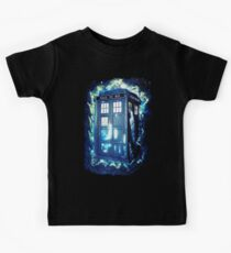 Dr Who Tardis - British Police Box Lost In Space Kids Clothes