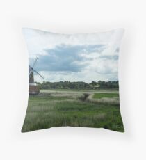 Cley Mill Throw Pillow
