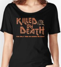 Motorhead Killed By Death Heavy Metal Women's Relaxed Fit T-Shirt