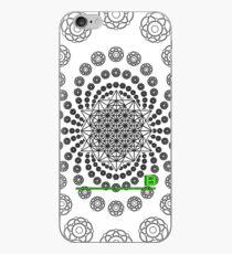 Crop Circle Metatron Vortex 22 IPHONE - Oct 2012 iPhone Case