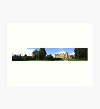 Waddesdon Manor - Panoramic Art Print