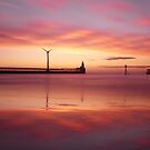 Blyth Northumberland, Ice and Fire by Sheerlight