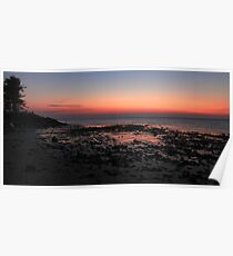 Morning at Woody Point Poster